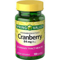 Cranberry c/ 100 softgels (Tratamento infecção urinária)