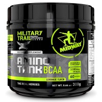 Amino Tank BCAA (300g) - Midway Military Trail - Sabor Limonada