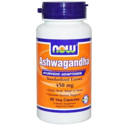 ASHWAGANDHA 450MG (Ginseng Indiano) - 90 cáps. - NOW FOODS