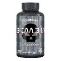 BCAA 3:1:1 - by Eduardo Corrêa - 240 tabl - Black Skull