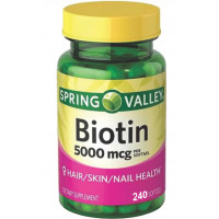 BIOTIN 5.000mcg | 240 softgels