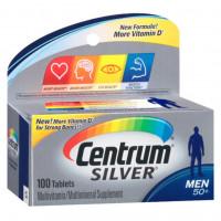 Centrum Silver Homens 50+ (Men) | Multivitamínico | 100 cápsulas