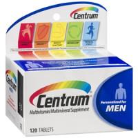 Centrum Homen (Men) | Multivitamínico | 120 cápsulas