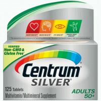 Centrum Silver Adultos 50+ | Multivitamínico | 125 cápsulas