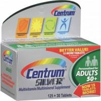 Centrum Silver Adultos 50+   Multivitamínico   155 cápsulas