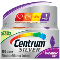 Centrum Silver Mulher 50+ (Women) | Multivitamínico | 100 cápsulas
