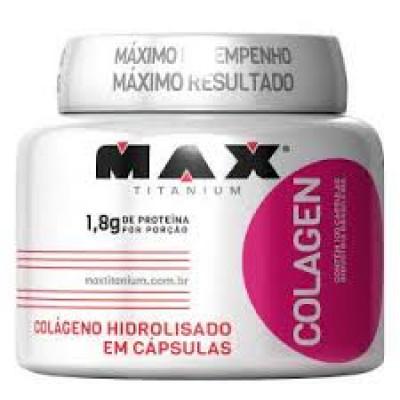 Colágeno - 100 Cápsulas - Max Titanium