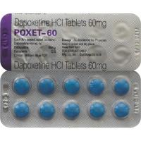 Dapoxetina 60mg - Cartela com 10 comprimidos