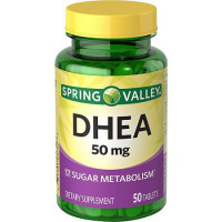 DHEA 50mg - 50 tablets - Spring Valley