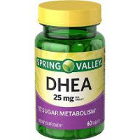 DHEA 25mg  60 tablets - Spring Valley