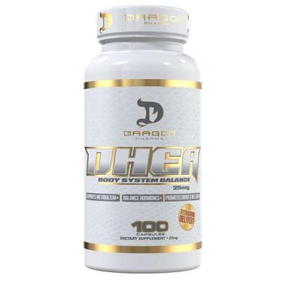 DHEA 25mg c/ 100 caps. - Dragon Pharma