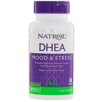DHEA 25mg Natrol c/ 180 tablets