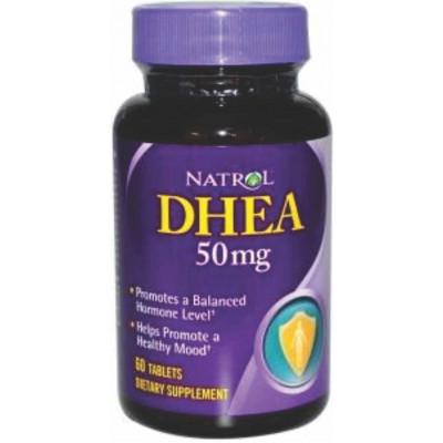 DHEA 50mg Natrol c/ 60 tablets