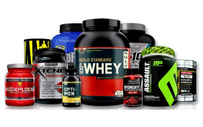 *Suplementos para ganhar massa muscular