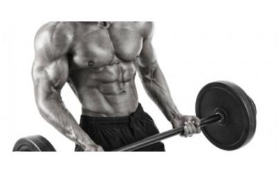 *Treino p/ ganho de massa muscular.