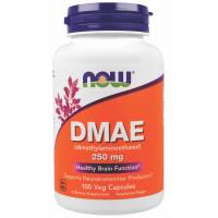 DMAE 250mg (Dimetiletanolamina) - 100 Cáps - Now