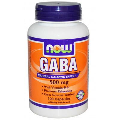 Gaba 500 mg  (100 Cáps) - Now Foods