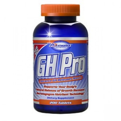 GH Pro - 200 Tabletes - Arnold Nutrition