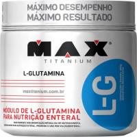 Glutamina LG - 300g - Max Titanium
