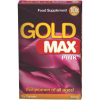 Gold Max Pink | 10 cápsulas
