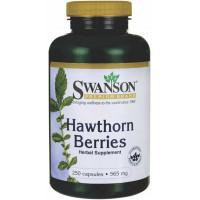 Hawthorn Berry ou Espinheiro Branco (Crataegus) 565mg - 250 caps