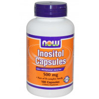 Inositol 500MG - 100 Cápsulas - Now Foods