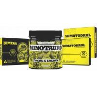 Kit Iridium Labs - 1Kimera - 1 Minotauro - 2 Somatodrol