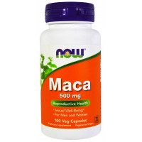 Maca 500 mg - 100 Cáps - Now Foods