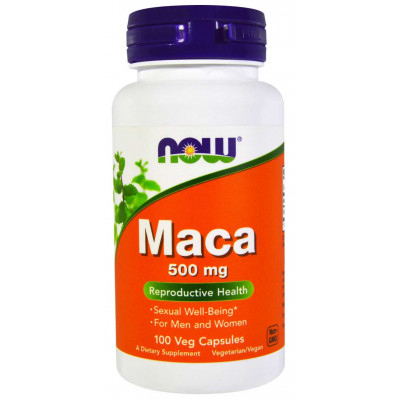 Maca 500 mg - 100 Cáps - Now Foods