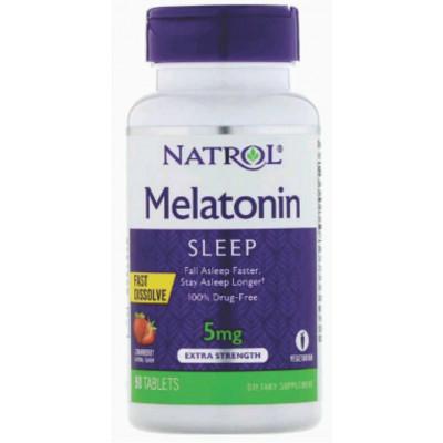 Melatonina sublingual 5mg - Natrol - 90 tablets