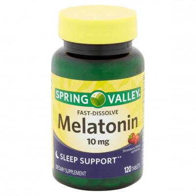 Melatonina 10mg  Sublingual c/ 120 tablets