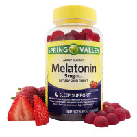 Melatonina 5mg - Adult Gummy - 120 gomas