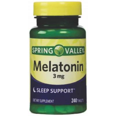 MELATONINA 3MG - 240 cápsulas