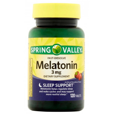Melatonina sublingual 3mg -Fast Dissolve - 120 tablets