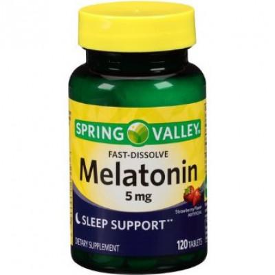 Melatonina sublingual 5mg -Fast Dissolve - 120 tablets