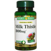 Milk Thistle (Cardo Mariano)- 1000 mg - 50 Softs - Nature's Bounty
