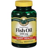 Óleo de peixe + Omega 3  com 100 softgels