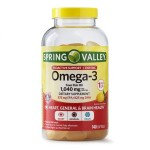 Omega 3 - 1,040 mg c/ 140 softgels - Spring Valley