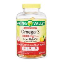 Omega3 1000mg  c/ 120 Softgels - sabor Limão