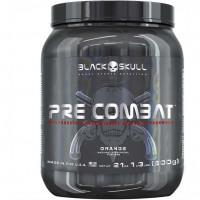Pré Combat (600g) -Sabor Laranja - Black Skull