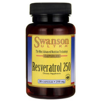 Resveratrol 250mg - 30 softgels - Marca Swanson
