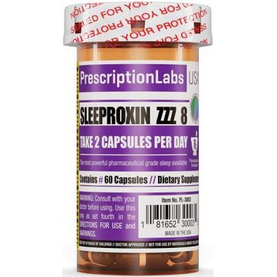 Sleeproxin ZZZ 8 - 60 Cápsulas - Prescription Labs