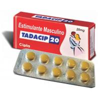 Estimulante Masculino 20mg (Tadacip) - cartela com 10 comprimidos