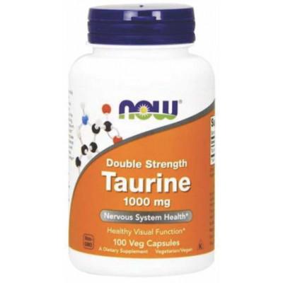 Taurina 1000 mg  (Taurine) - 100 Vcapsulas - Now Foods