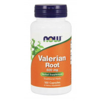 Raiz Valeriana (Valerian Root) 500mg - 100 Cáps - Now Foods