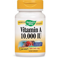 Vitamina A - 10.000ui - Nature's Way - 100 softgels