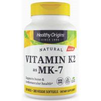 Vitamina K2 (MK-7) -100 mcg - Healthy Origins - 180 softgels