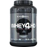 Whey 4HD - 907gr - Marca Black Skull