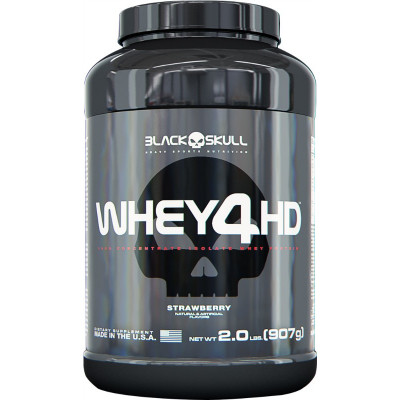 Whey 4HD - 907gr - Marca Black Skull