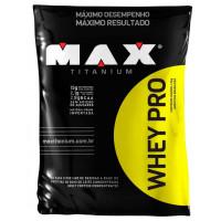 Whey Pro Refil (1,5kg) - Max Titanium